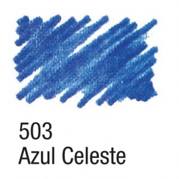 CANETA PARA TECIDO ACRILPEN 503 AZUL CELESTE ACRILEX