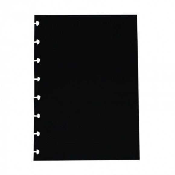 REFIL BLACK MEDIO PARA CADERNO INTELIGENTE 10FOLHAS