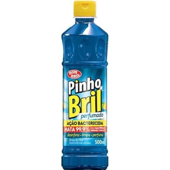DESINFETANTE PINHO BRIL 500ML BRISA DO MAR BOMBRIL