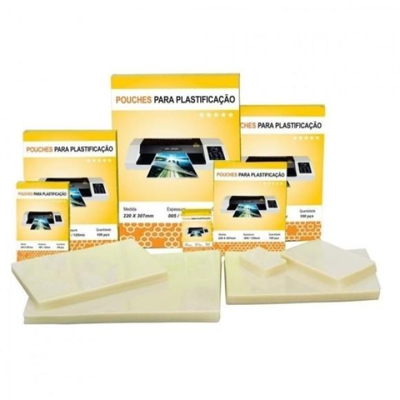 POLASEAL PARA PLASTIFICAÇÃO A3 005 426X303 C/100 UNIDADES