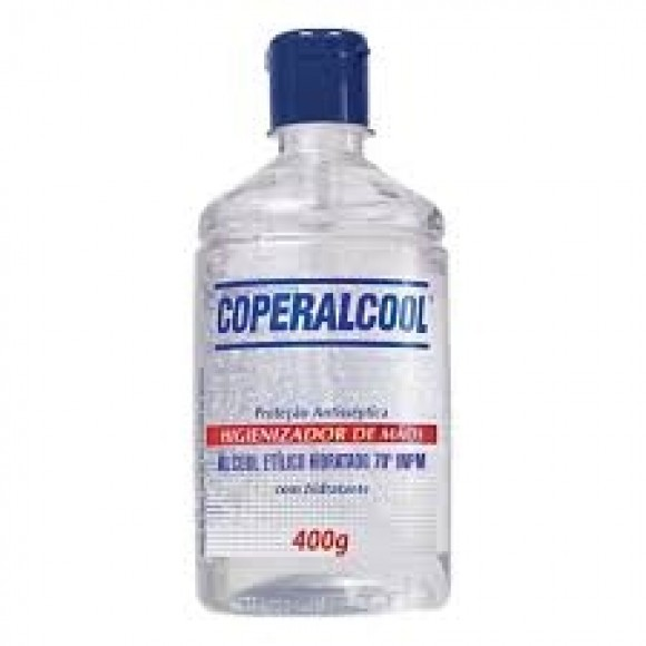 ALCOOL GEL ANTISSEPTICO 70º 400G COOPERALCOOL