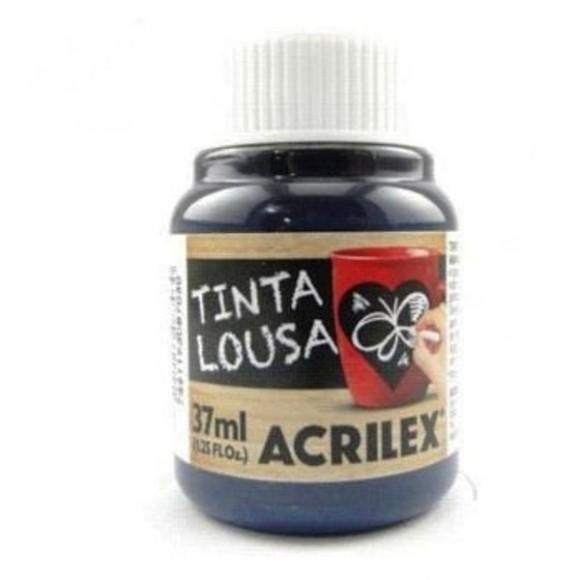TINTA LOUSA 37ML AZUL REF.01740 ACRILEX