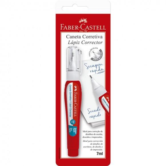 CANETA CORRETIVA 7ML SM/CC7ML FABER CASTELL